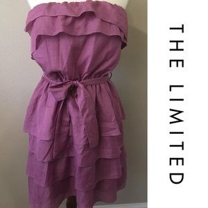 The Limited Sz 8 strapless dress